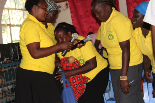 HFAW CHHRP Performing anit-FGM skit