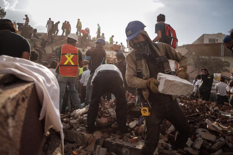 Emergency Earthquake Response in Mexico