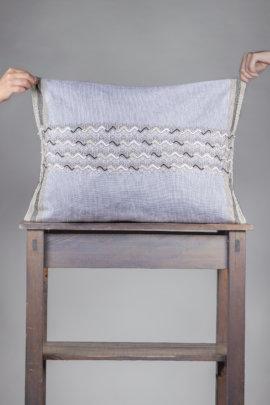 Cushion made by Maria for Ensamble Artesano