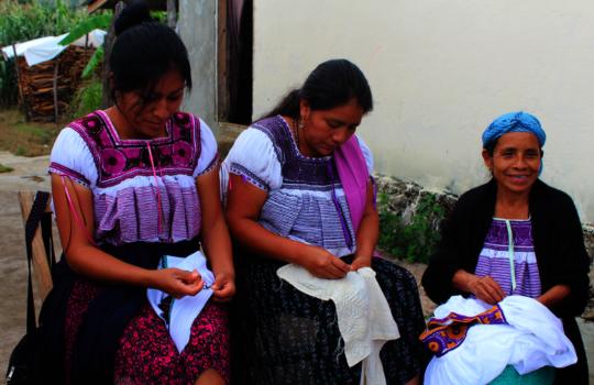 Aguacatenango artisans