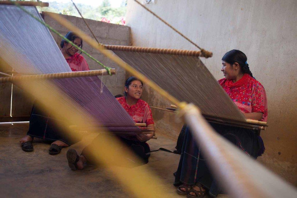 Empowering Mayan women through ancient textiles