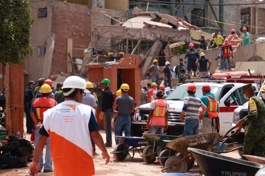 Helping families affected by Mexico Earthquakes