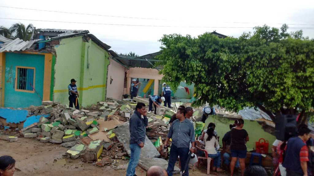 Earthquake Recovery for Chiapas & Oaxaca, Mexico