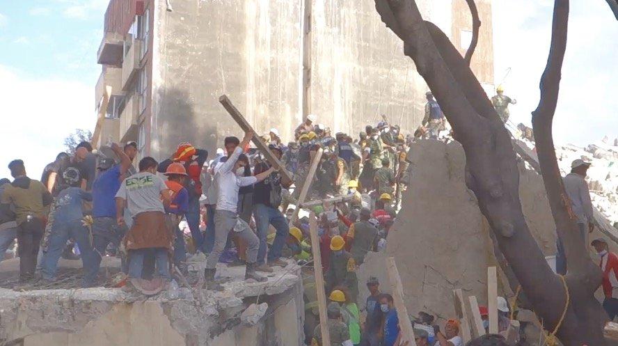 Mexico Rises Earthquake Fund