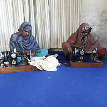 Sewing provides income
