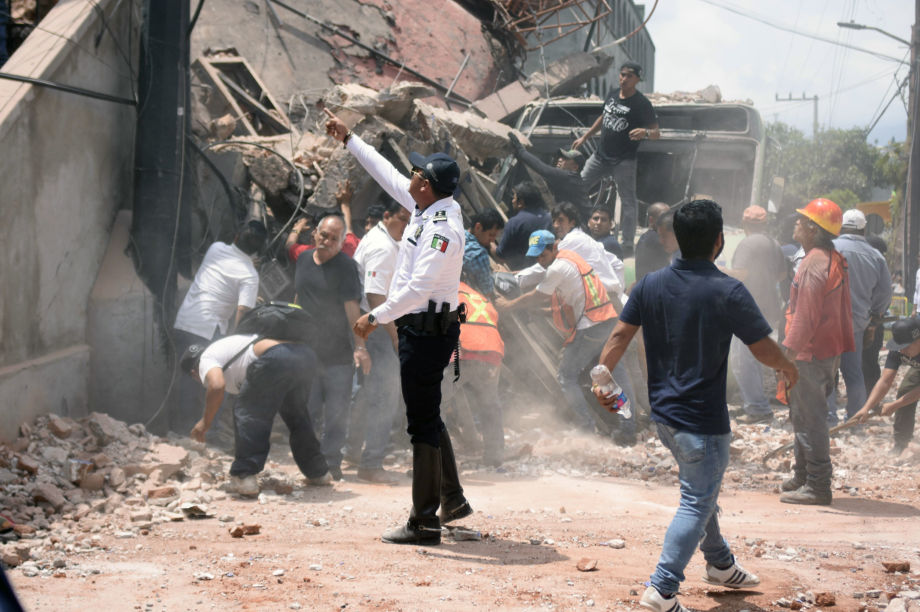 Habitat for Humanity: Mexico Earthquake response