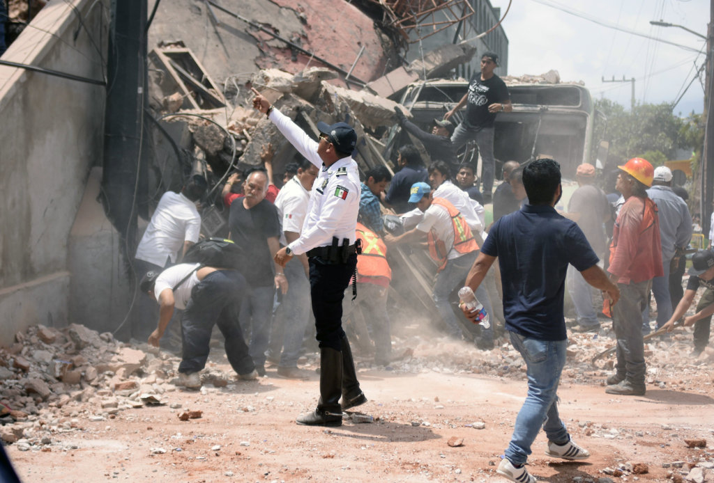 Habitat for Humanity: Mexico Earthquake response