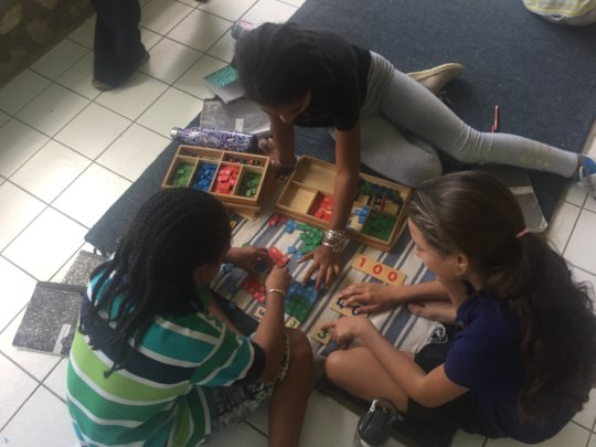 Practicing squaring, cubing and Teach Your Parent