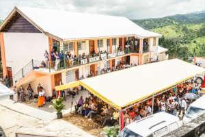 Completed Paix Bouche School