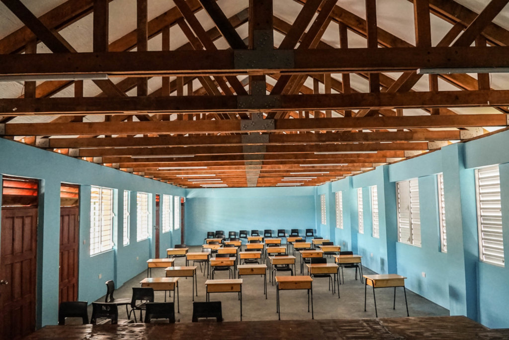 Paix Bouche Classroom