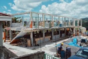 Paix Bouche Primary School in progress
