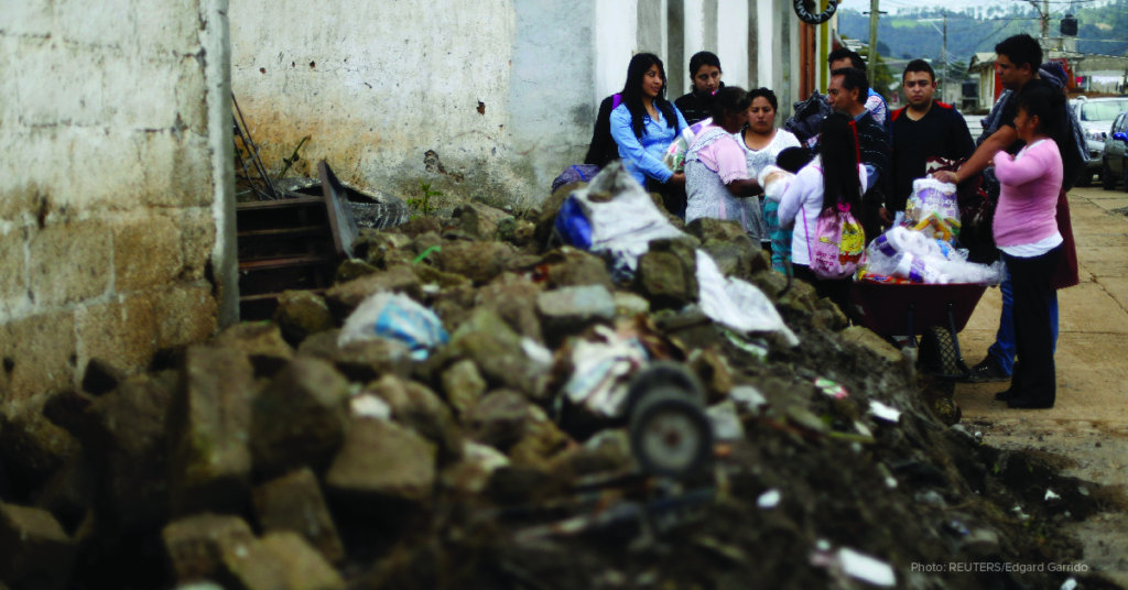 Emergency Response to the Mexico Earthquakes