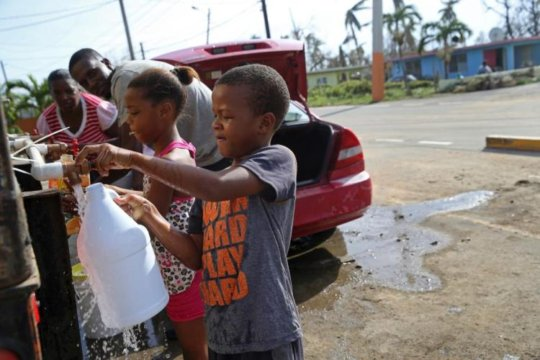 Puerto Rico Aid Distribution