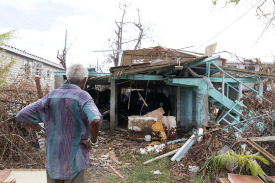 Maria damaged more than a third of homes in PR.
