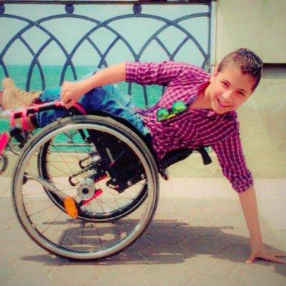 Active Kid on Wheels