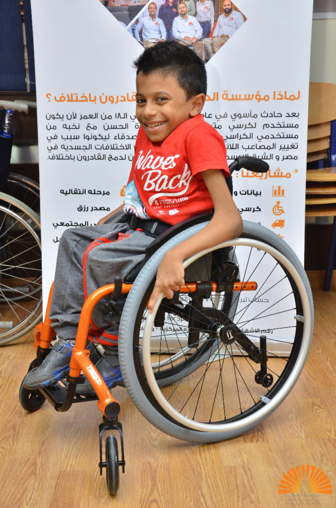Customized Wheelchairs for the 1st time in Egypt!