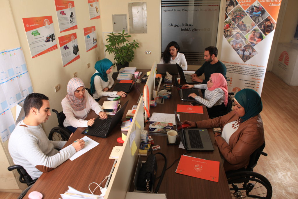 First Egyptian Info Hub for Wheelchair Users!