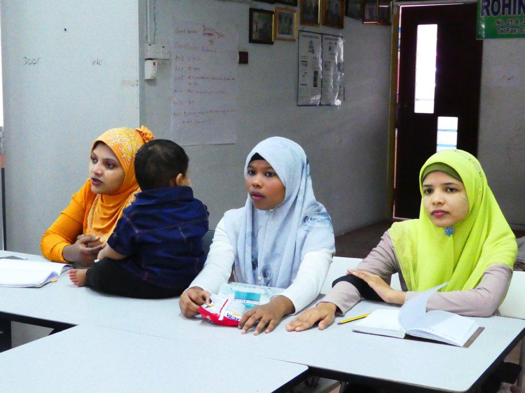 Empowering Refugee Women in the Rohingya Community