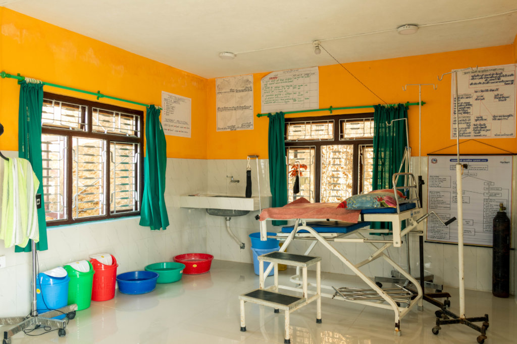 Thechambu Delivery Room After OHW renovations