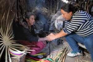 Atzin Helps Special Needs of 60 Children & Elderly