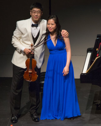 Soovin Kim, violin and Gloria Chien, piano