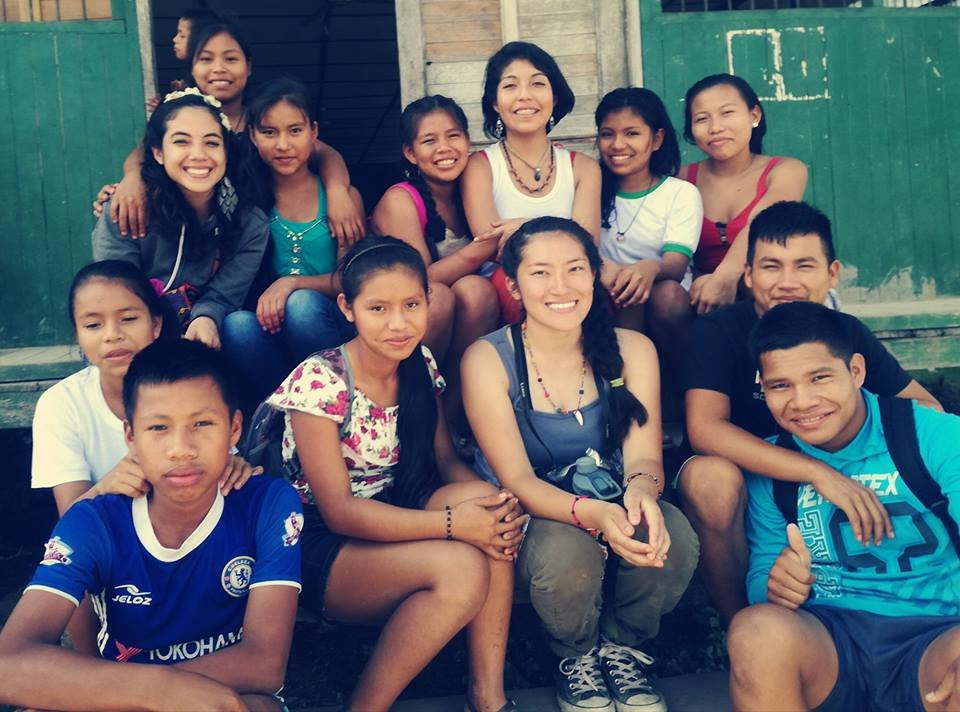 Youth in Paoyhan with our Hip Hop Facilitators