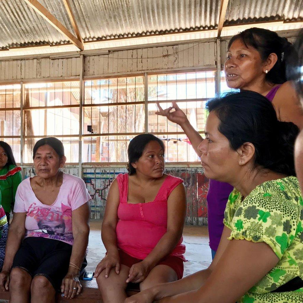 Bena Jema mothers planning plant medicine workshop