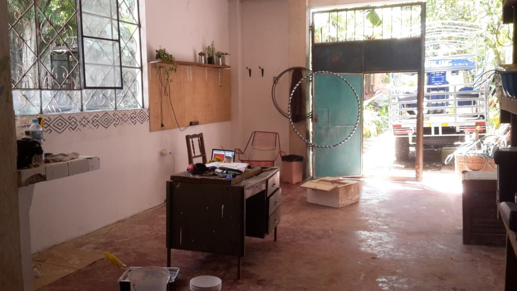 our space!