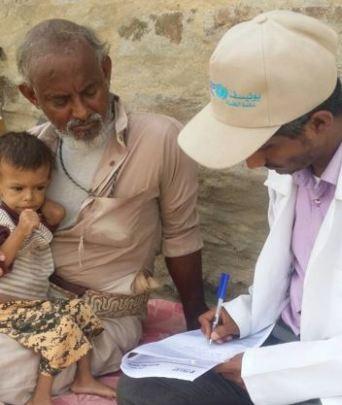 Yahya and Muhammad at his son's last check up.