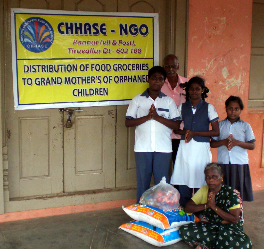 Education support to orphan rural girl children