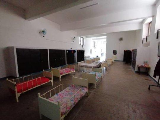 Home of the kindergarten children