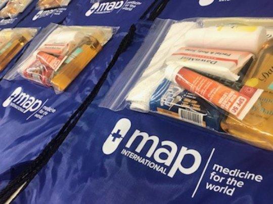 Provide Disaster Health Kits for Maria Survivors