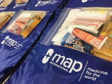 Provide Disaster Health Kits for Maria Survivors