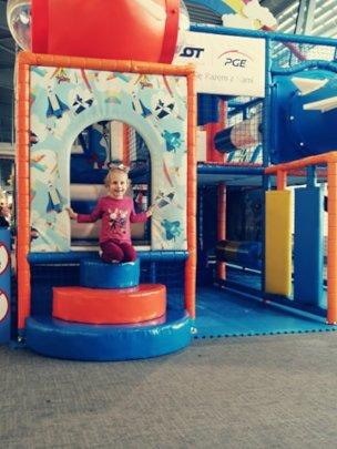 Emilija at playground