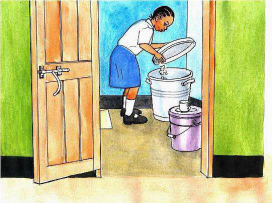 Girl-Friendly Latrine to Boost School Attendance
