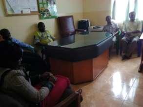 Meeting with teachers