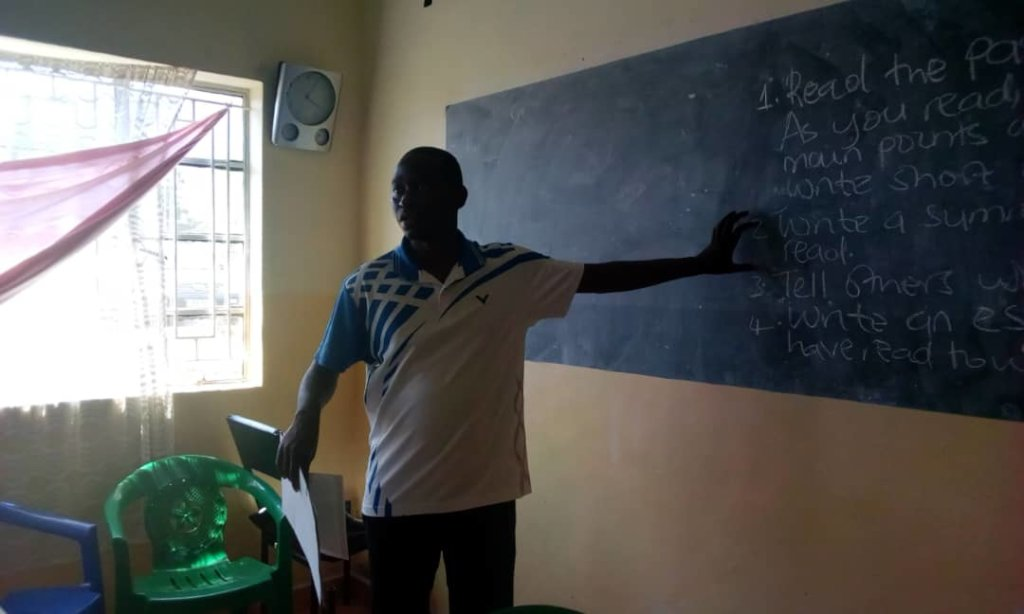 Patrick teaching