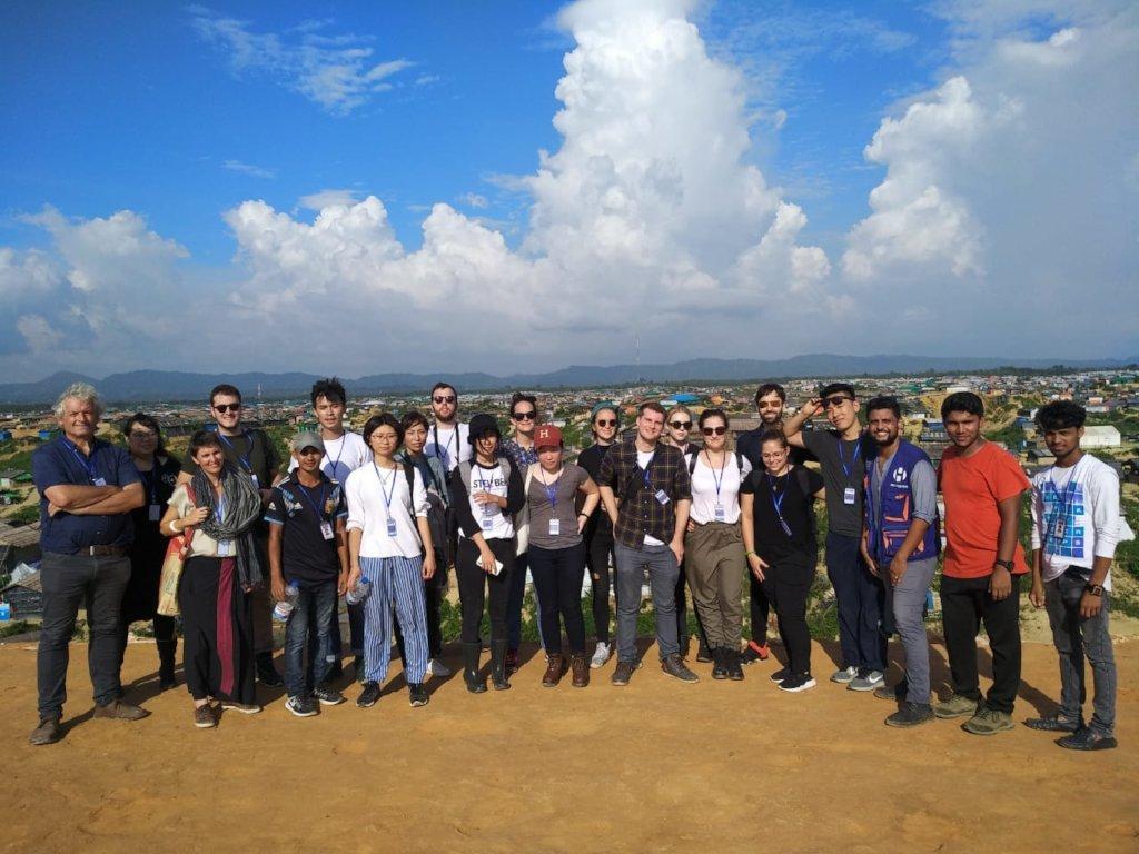 Harvard team with OBAT staff