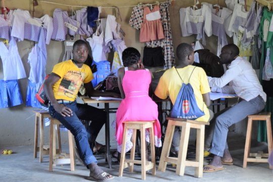 Entrepreneurship in Refugee Camps and Schools