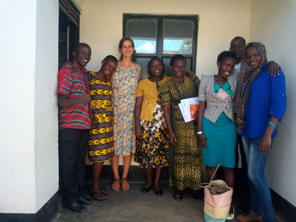 Mentor Teachers and FICH after discussing LEAD