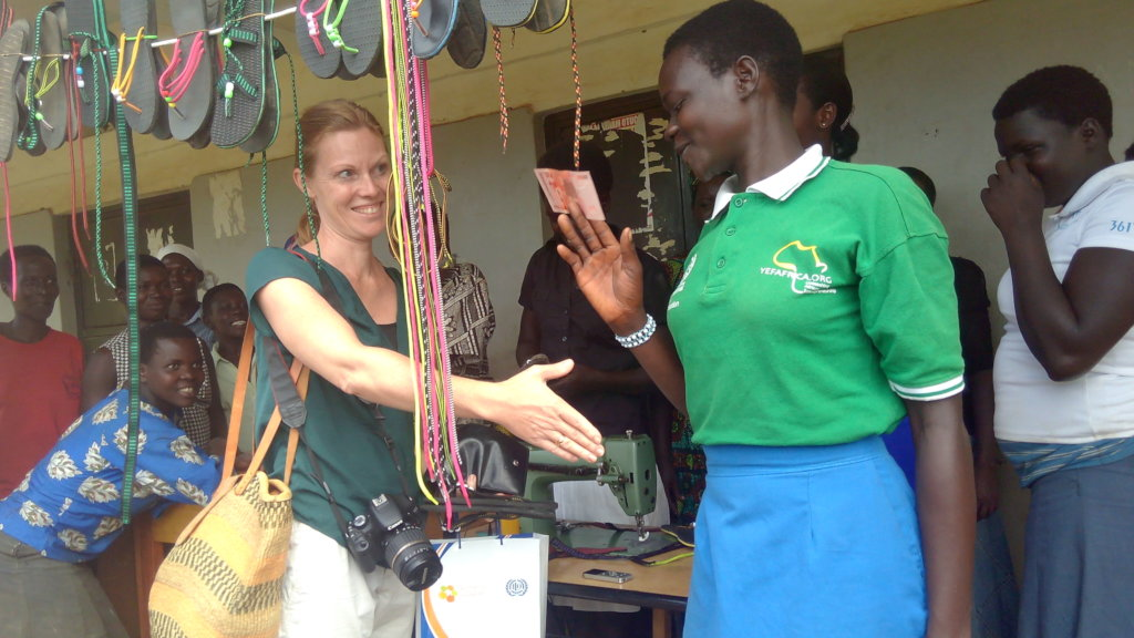 Local Embassy in Uganda visit to FICH beneficiary