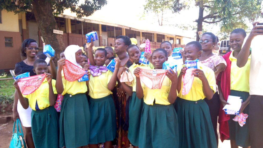 Sanitary Towels for 1,000 Refugee Girls in Kampala
