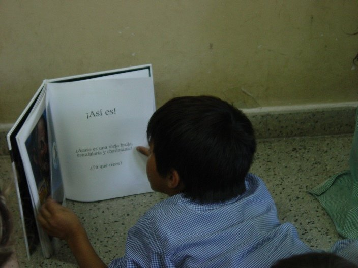 Give Deaf Children in Argentina a First Textbook
