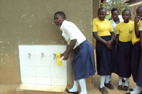 Sanitation Facilities for Rural Schools in Uganda