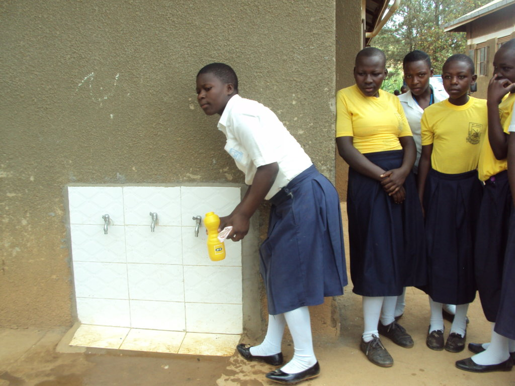Sanitation Facilities for Rural Schools in Uganda
