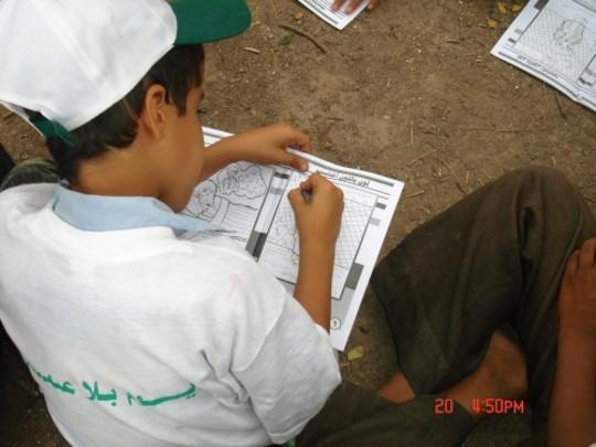 Participant in our schools program