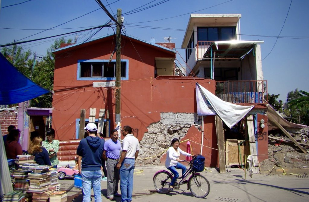 Temporary School in Xochimilco, Mexico City