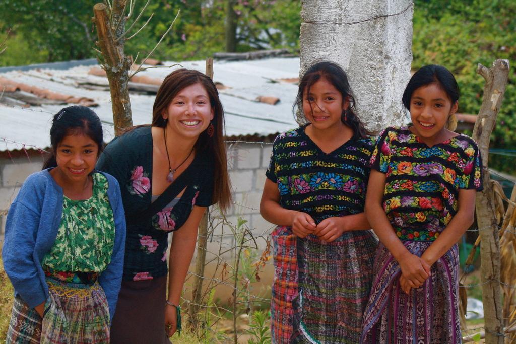 Volunteer Coordinator with Local Students