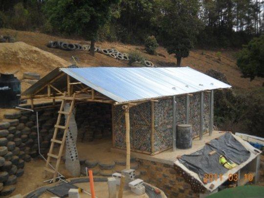 Dry-Composting Latrine