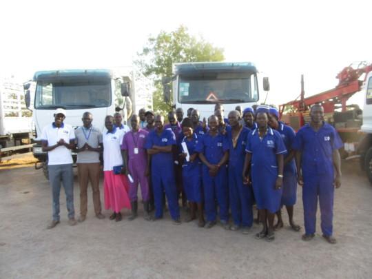 Members of Our South Sudan Team